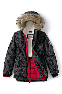 Boys' Patterned Expedition Parka