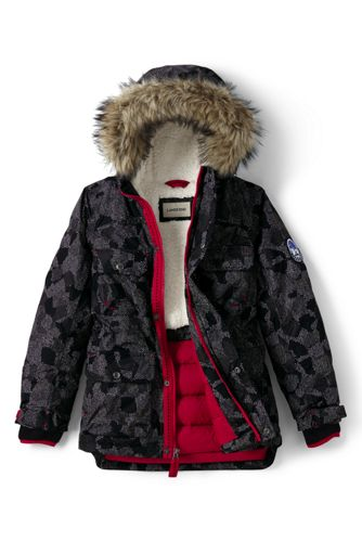 Little Boys' Patterned Expedition Parka