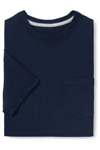 メンズ・スーパーT/スリムフィット/ポケット付き/半袖