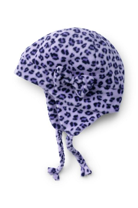 School Uniform Girls ThermaCheck 200 Fleece Printed Hat