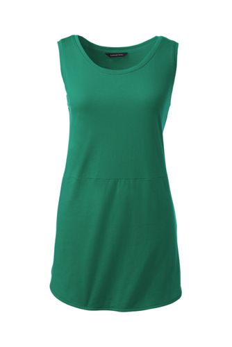 Women's Regular Jersey Tulip Vest Tunic