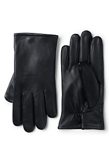 Men's Touchscreen Leather Gloves