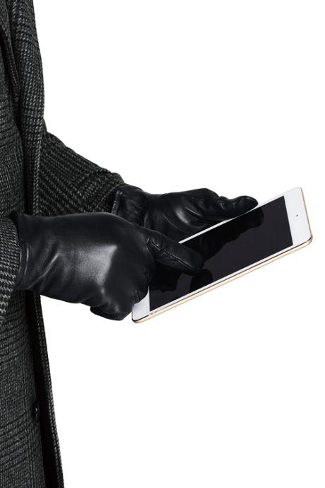 Men's Leather EZ Touch Gloves
