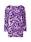 Supima Feinstrick-Pullover mit Musterprint