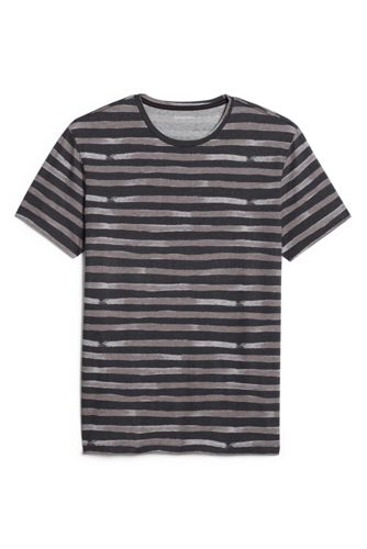 Men's Seaworn Painted Stripe Crew Neck T-shirt