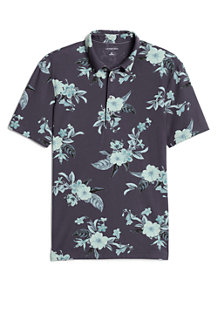 Men's Print Stretch Piqué Polo