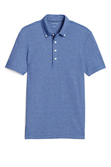 Men's Striped Stretch Piqué Polo