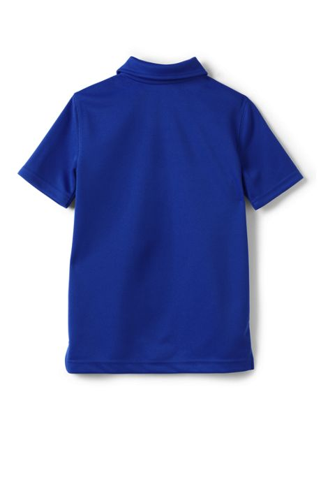 School Uniform Boys Short Sleeve Poly Pique Polo