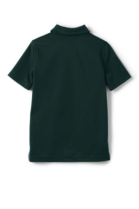 Little Boys Short Sleeve Poly Pique Polo