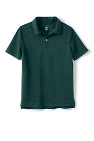 School Uniform Boys Short Sleeve Poly Pique Polo Shirt