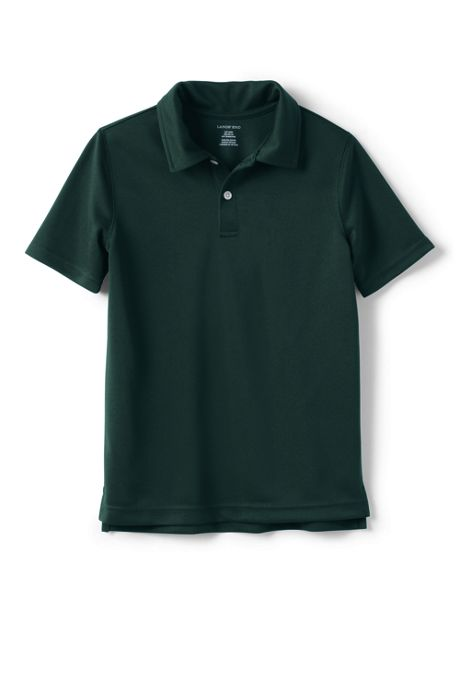 Boys Short Sleeve Poly Pique Polo Shirt