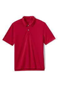 School Uniform Men's Short Sleeve Poly Pique Polo Shirt