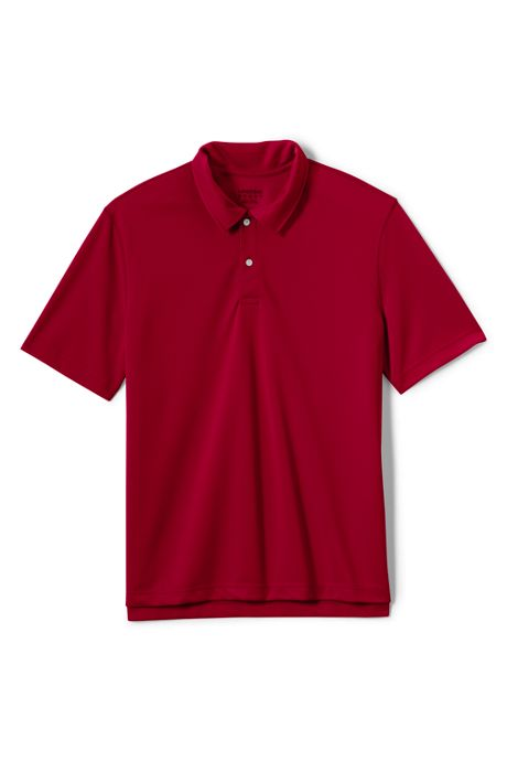Men's Short Sleeve Poly Pique Polo Shirt