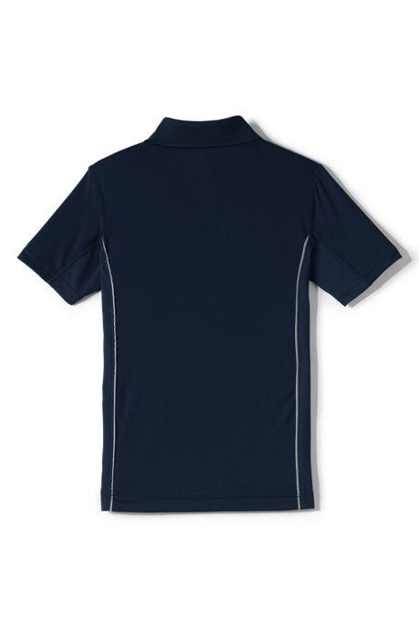 School Uniform Boys Short Sleeve Reflective Active Polo