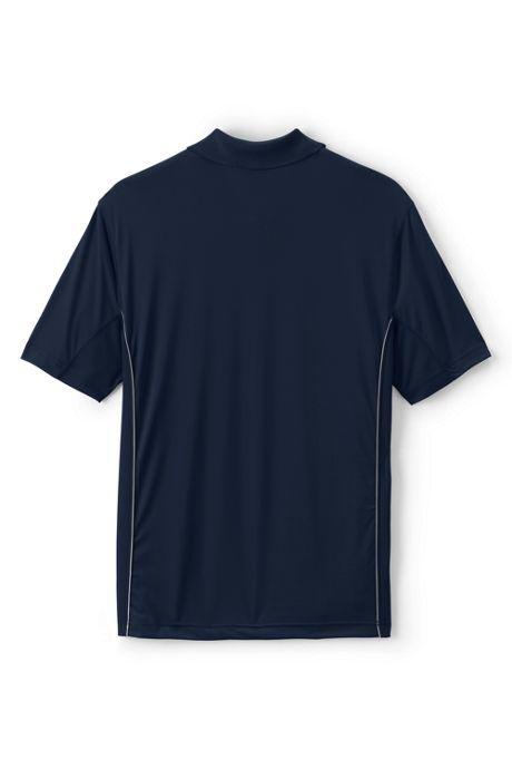 School Uniform Men's Short Sleeve Reflective Active Polo
