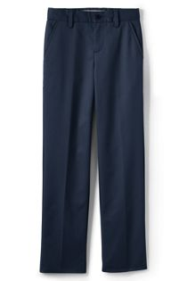 Uniform Little Boys Lands' End Iron Knee Perfect Chino Pant