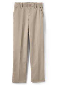 School Uniform Little Boys Lands' End Iron Knee Perfect Chino Pants