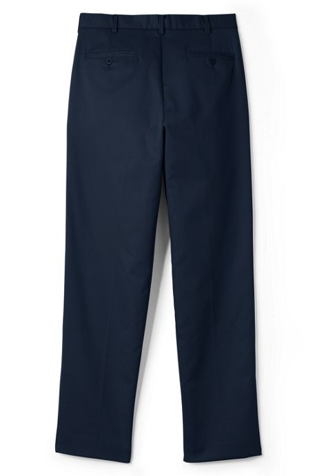 School Uniform Men's Lands' End Perfect Chino Pants