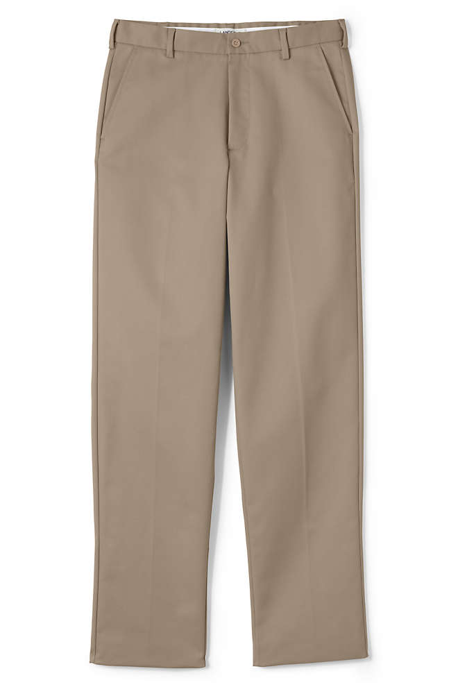 Men's Lands' End Perfect Chino Pants, Front