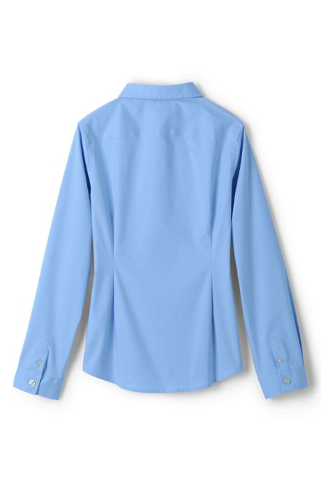 Girls Long Sleeve Stretch No Gape Shirt