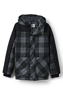 Boys' Fleece-lined Insulated Parka