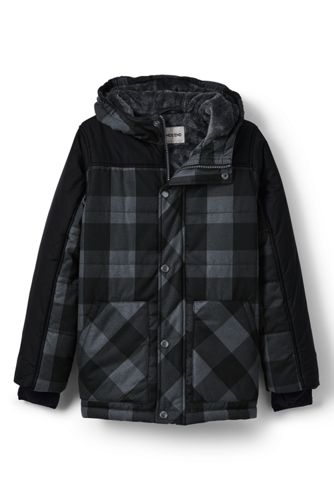 Little Boys' Fleece-lined Insulated Parka