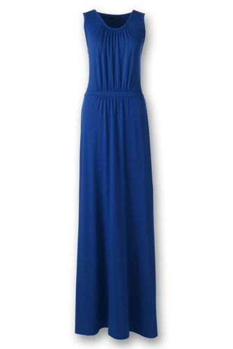 Womens Regular Stretch Jersey Maxi Dress - 14-16 - PURPLE Lands End With Mastercard For Sale wSvL8UXpM2