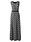 Women's Regular Print Stretch Jersey Maxi Dress