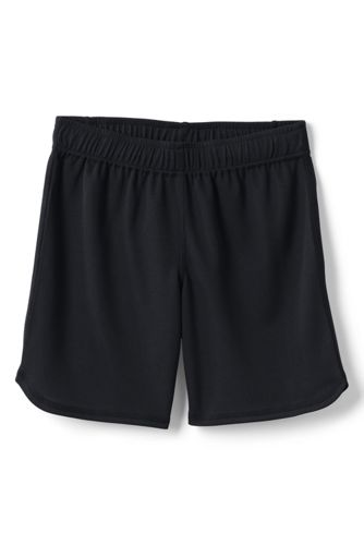 School Uniform Little Girls Mesh Shorts by Lands' End