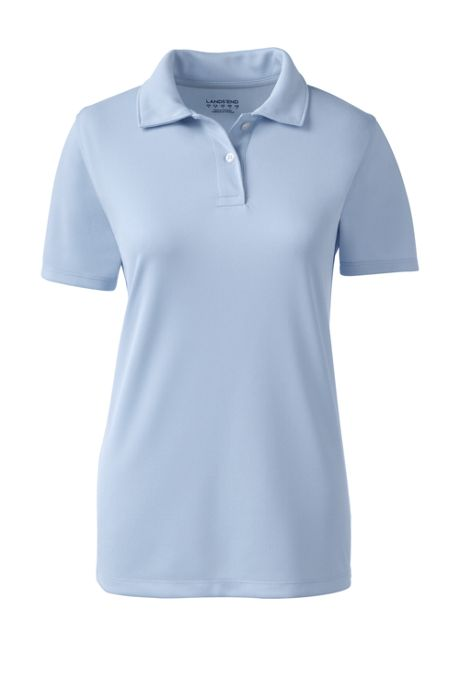School Uniform Women's Short Sleeve Poly Pique Polo