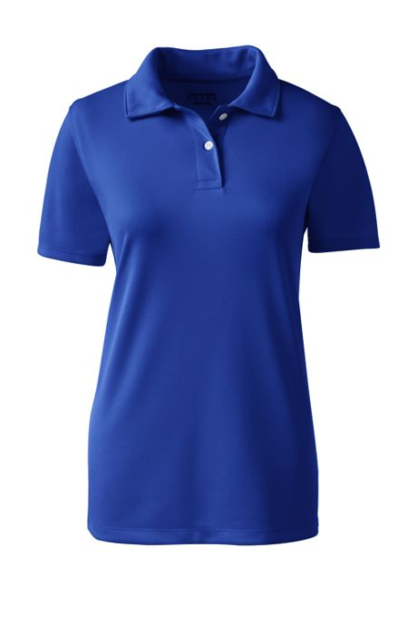 School Uniform Women's Short Sleeve Poly Pique Polo Shirt