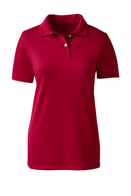 Women's Short Sleeve Poly Pique Polo Shirt