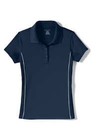 Girls Short Sleeve Reflective Active Polo