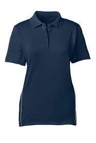Women's Short Sleeve Reflective Active Polo