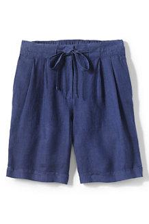 Women's Linen Shorts