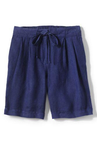 Lässige Leinen-Shorts für Damen
