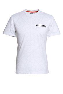Activewear Sportshirt mit Printmuster für Herren
