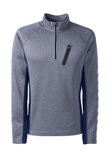 Men's Sport Jersey Half-zip Top