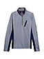 Men's Regular Sport Jersey Half-zip Top