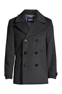 Men's Regular Wool Blend Pea Coat
