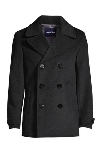 Men's Wool Blend Pea Coat