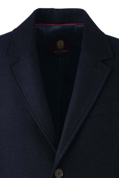 Men's Wool Topcoat