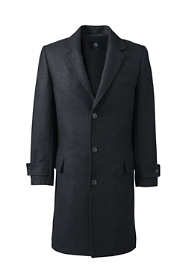 Men's Tall Wool Overcoat