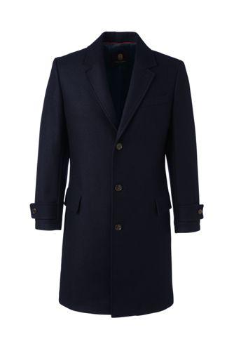 Men's Wool Blend Overcoat