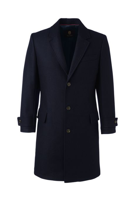 Men's Wool Overcoat