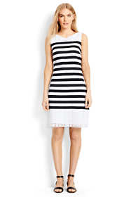 Women's Petite Sleeveless Shift Dress