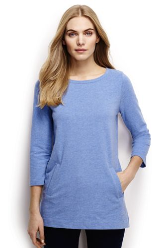 Women's Regular Three Quarter Sleeve Tunic