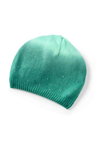 Mütze mit Farbverlauf und Glitzer für Mädchen