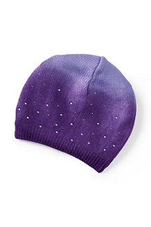 Girls' Dip Dye Sparkle Hat