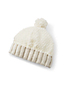 Girls' Faux Fur Bobble Hat